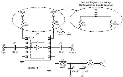 TQL9042超低噪声旁路低噪声放大器的详细数据手册免费下载