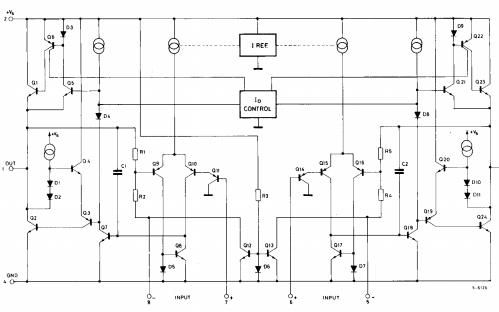TDA2822M双低压功率放大器的详细数据手册免费下载