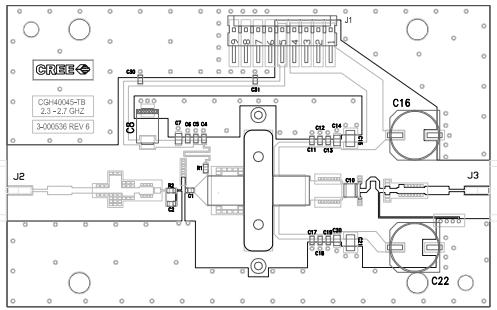 CREE CGH40045射频功率晶体管的详细数据手册免费下载