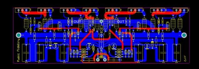 音乐传真A1000大功率功放制作设计(纯后级)