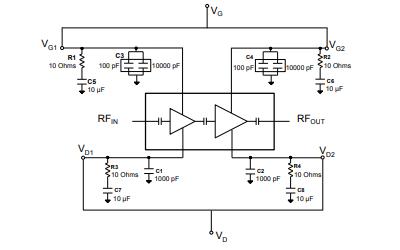 TGA2214 氮化鎵功率放大器的詳細數據手冊免費下載