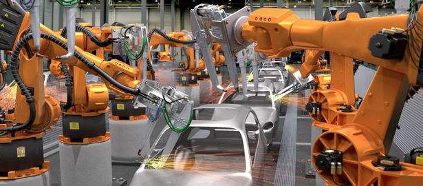 以智能机器人提升制造业工作效率