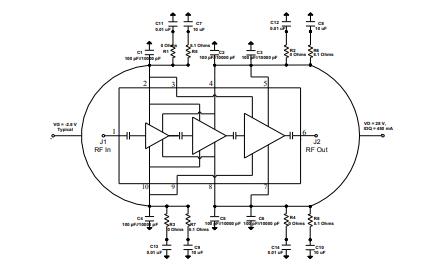 TGA2219 氮化鎵功率放大器的詳細數據手冊免費下載