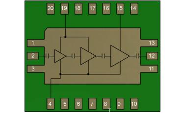TGA2218-SM 封裝Ku波段高功率放大器的詳細數據手冊免費下載