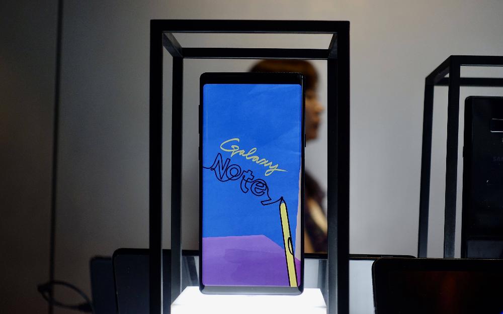 三星全面顶配的Galaxy Note9 国行版发布,售价6999起