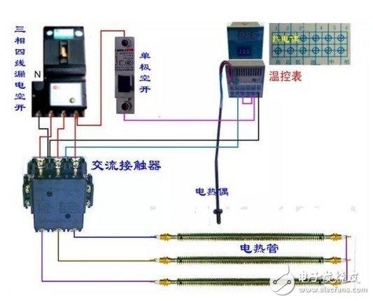 按照仪表接线图进行正确接线通电后,仪表先是显示仪表的热电偶