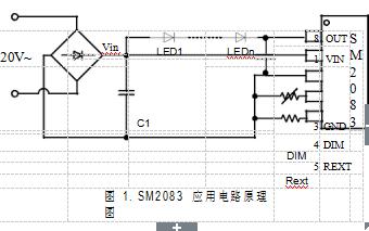 SM2083单通道可调光LED恒流驱动控制芯片的详细中文数据手册免费下载