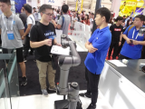 哈工大机器人集团研发的轻型协作机器人,荣获2018年度德国红点大奖