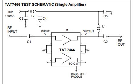 TAT7466射频放大器的详细数据手册免费下载