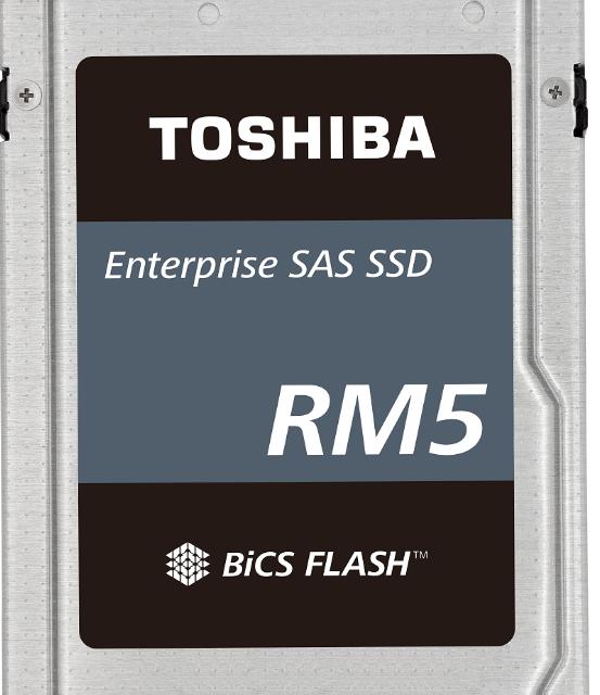 东芝推出全新SAS接口RM5系列SSD,计划将取...