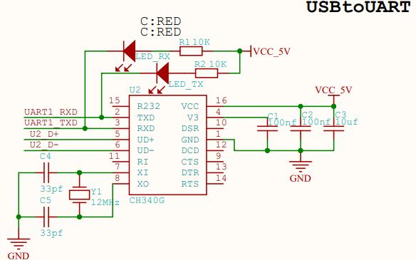 青釉zore物联网核心板原理图详细资料免费下载