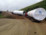 历时217天,四川能投风电会东雪山风电场大件运输全部结束