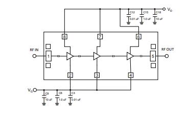 QPA2628D砷化镓低噪声放大器的详细数据手册免费下载