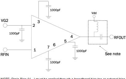 SDA-4000砷化镓驱动放大器的详细数据手册资料免费下载