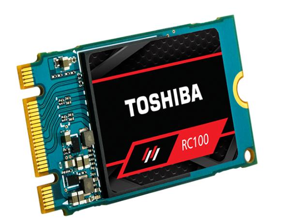 东芝NVMe M.2 RC100系列SSD上市,主攻DIY制造商和PC玩家群体