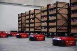 国美开启AGV机器人仓的运营使用助力818嗨购节