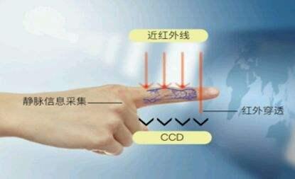 手指静脉系统识别流程架构及技术特点解析