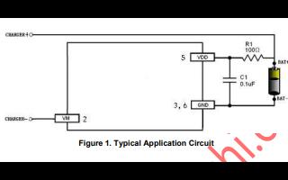 锂离子电池和聚合物电池的保护芯片B5307A的数据手册免费下载