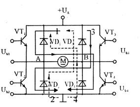 可逆PWM变换器工作原理