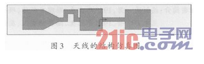 一种结构简单的兼容多标准的宽带RFID标签天线设计