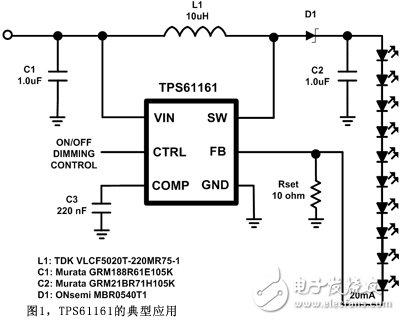 设计白光LED驱动器时的EMI干扰问题不可忽视