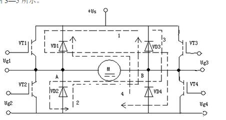 桥式可逆pwm变换器电路分析