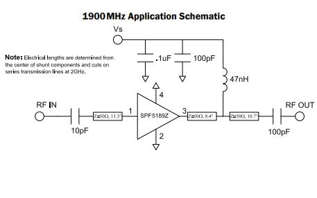 SPF5189Z高性能PHEMT MMIC低噪声放大器的详细数据手册免费下载
