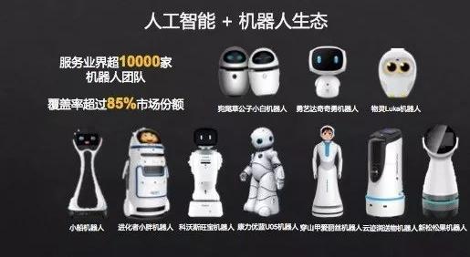 科大讯飞机器人市场覆盖率超过85%,已与上万家机器人生产厂商合作