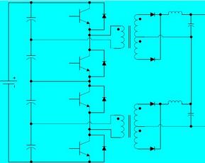 級聯式直流變換器原理分析