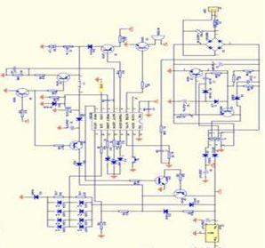 雙頭應急燈個工作原理和電路圖詳解