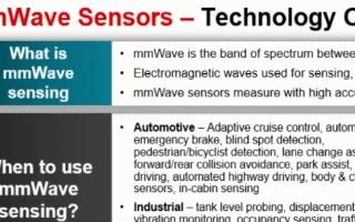 单芯片77GHz毫米波产品的特点介绍