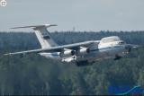 俄罗斯强大战机:伊尔-76VKP空中战略指挥机