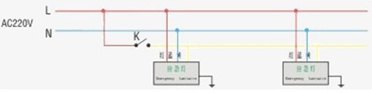 消防应急灯怎么接线 消防应急灯接线实物图