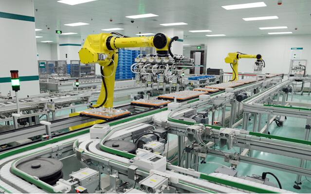 我国工业机器人正趋向于高速增长的态势,无人区制造...