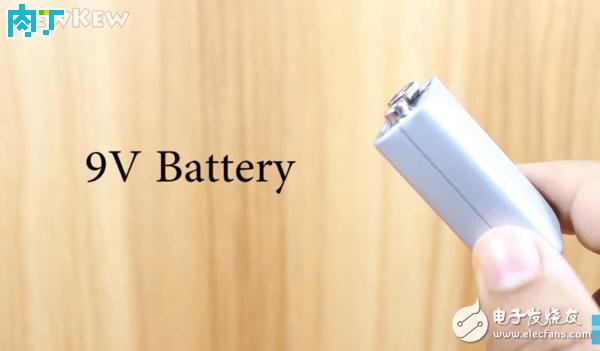 9V电池改充电宝方法