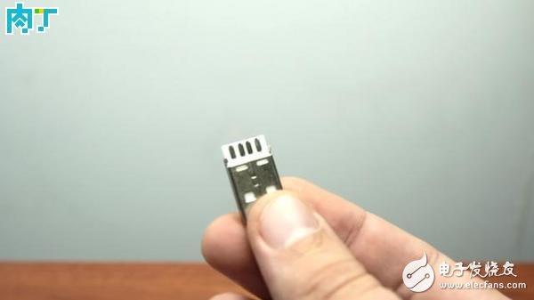 usb插頭改LED小燈方法