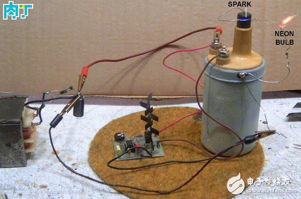 基于ne555的高压发生器的设计及制作