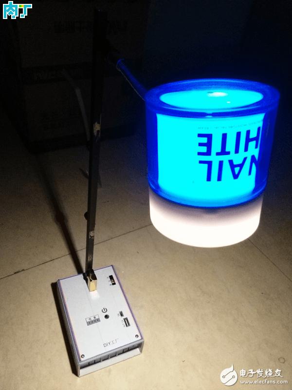 自制充电式台灯制作教程