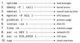Linux常用检测性能的10个基本命令汇总