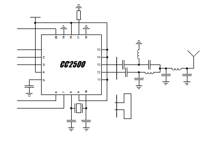 cc2500低成本低功耗射频收发器的详细资料介绍包括原理图免费下载