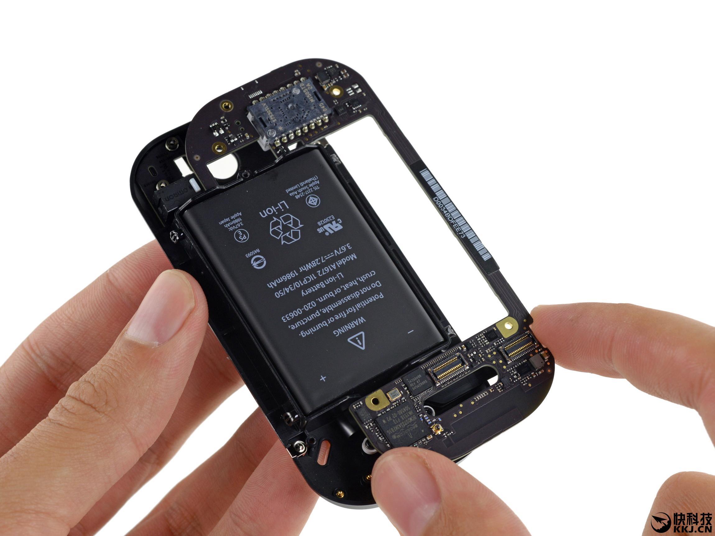 苹果s装电池步骤图