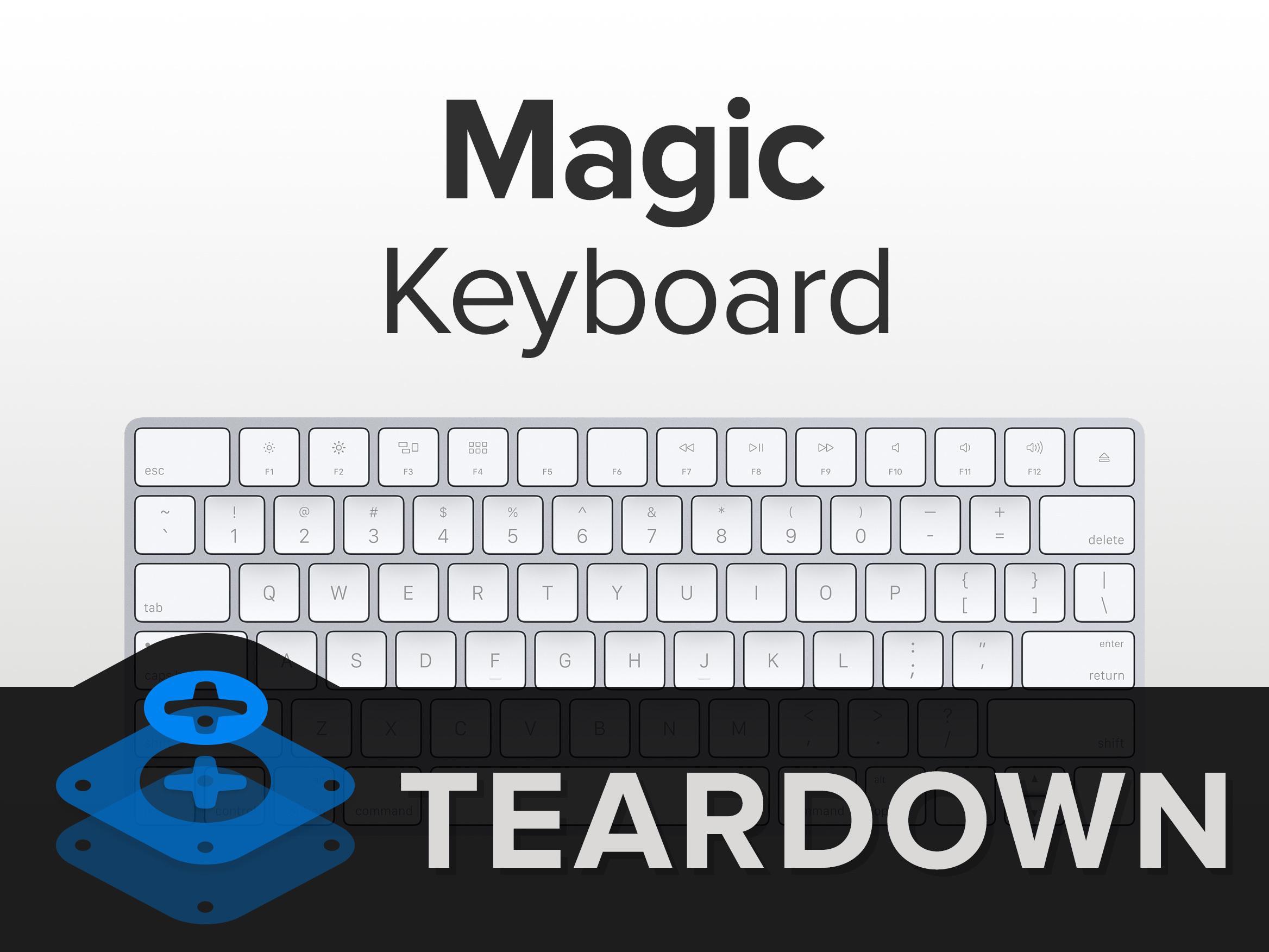 苹果全新键盘拆解 内部做工如何