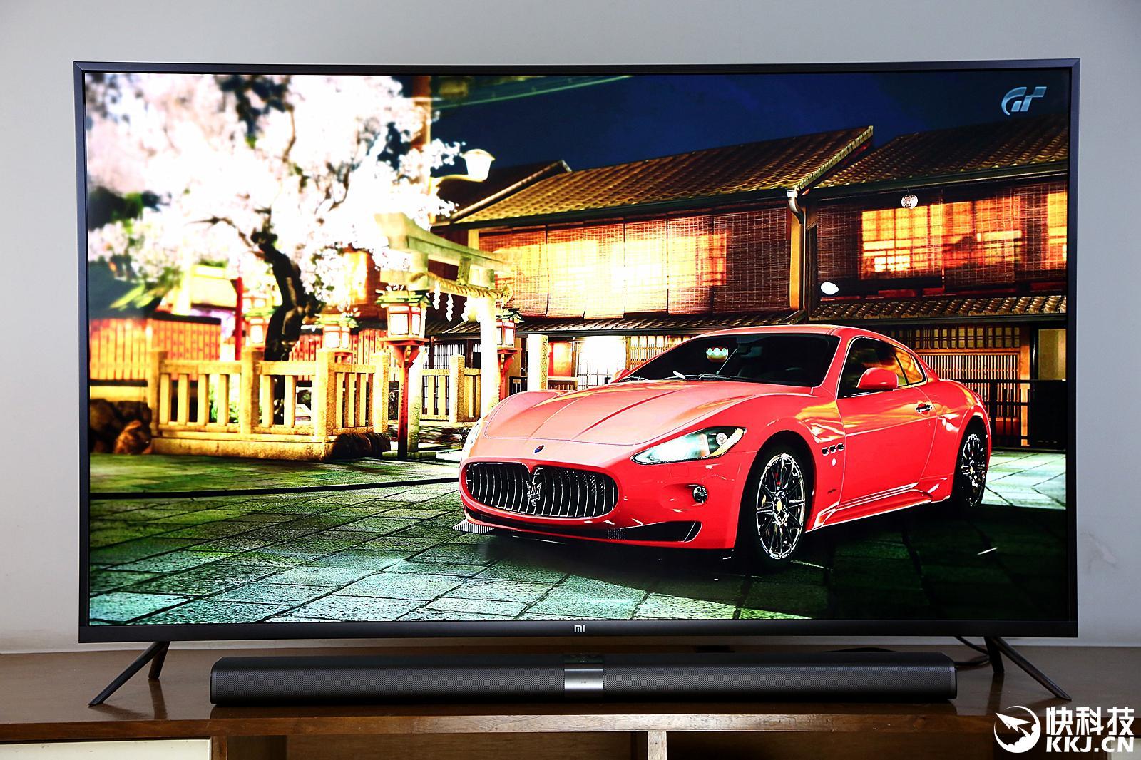 60寸小米电视3评测 整体布局更为简洁