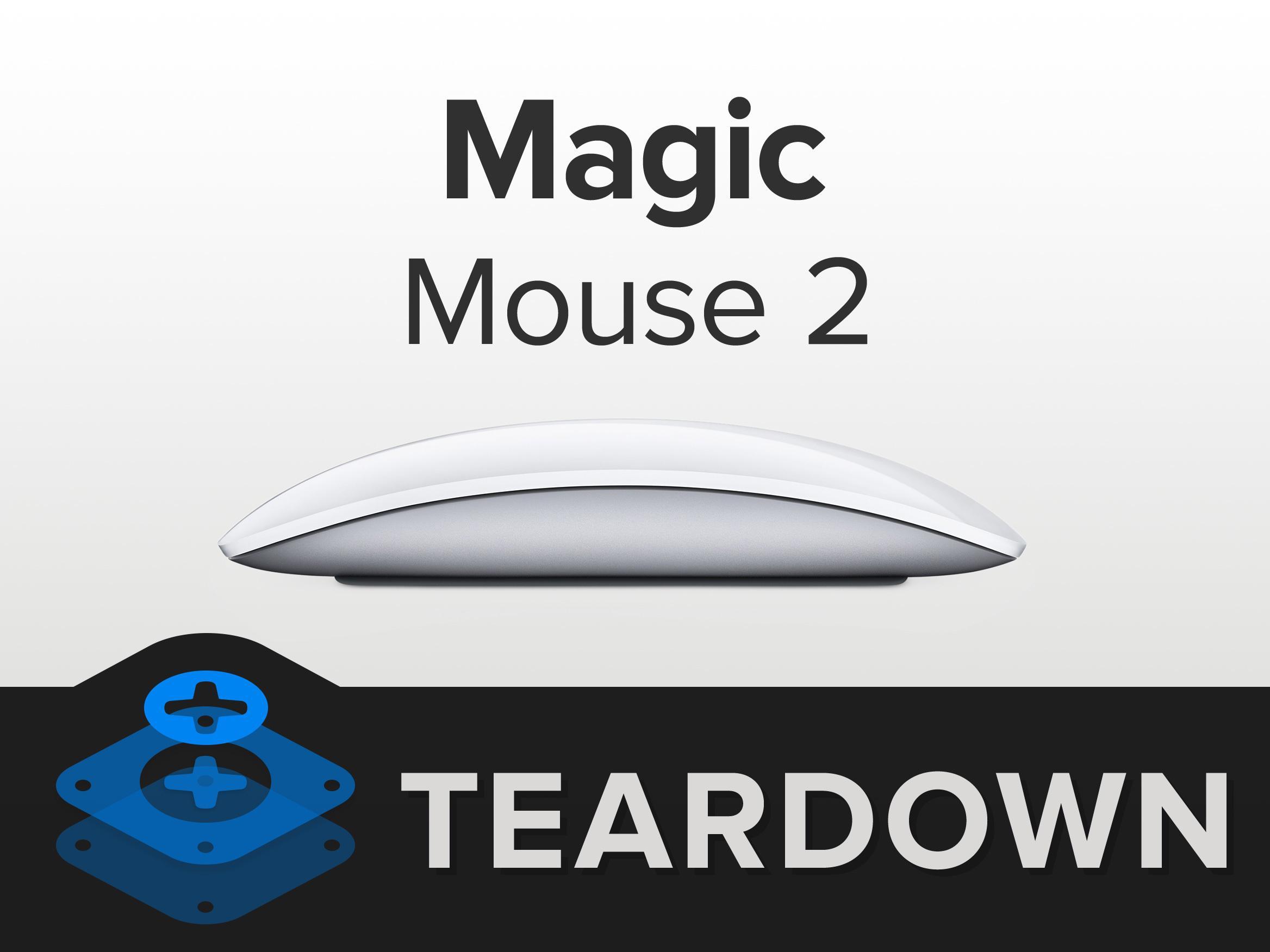苹果魔力鼠标2拆解 有什么亮点呢