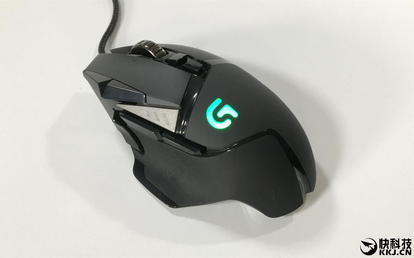 罗技G502怎么样 外观亮骚性能强大