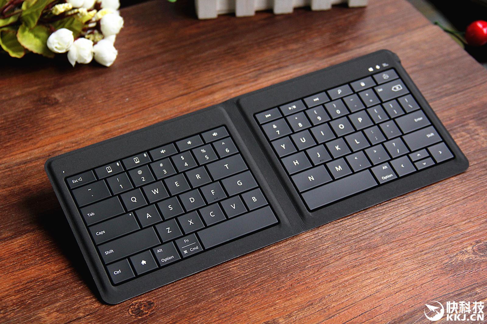 微软可折叠键盘评测 按键反馈非常满意
