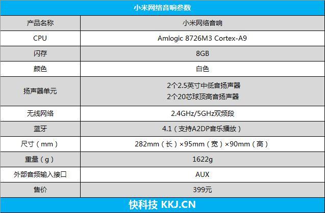 小米网络音响评测 399元同价位最强的音箱
