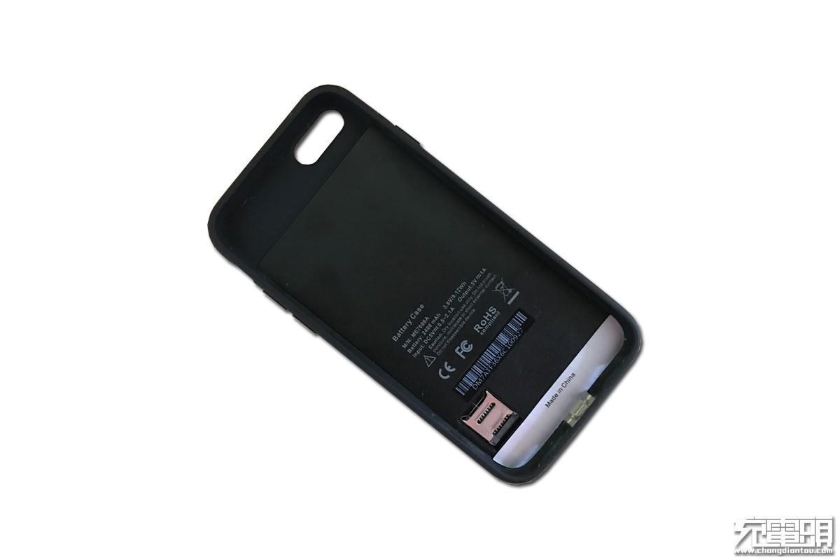 酷能量iP7背夹电池拆解 无下巴设计美感爆棚