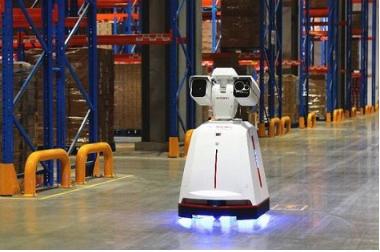 京东第一代巡检机器人亮相, 警报联动性能得到了大大的提升