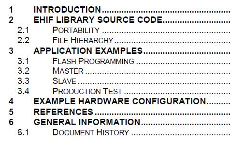CC85XX外部主机接口实例应用与EHIF库的详细资料概述